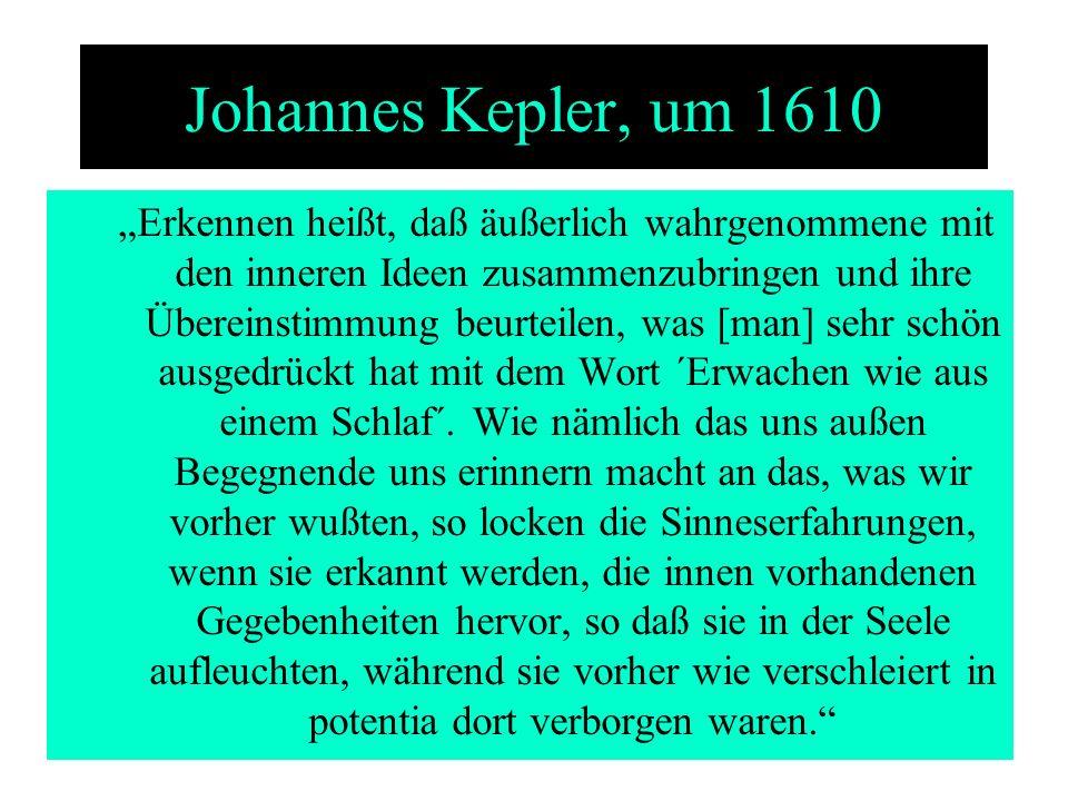 Johannes Kepler, um 1610