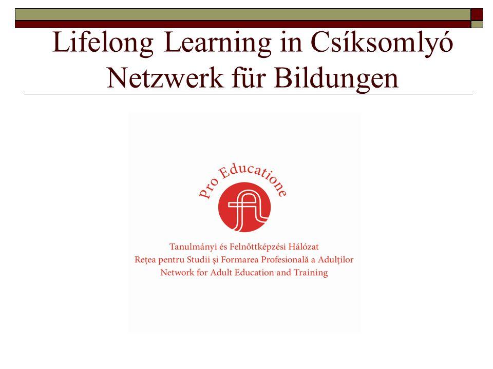 Lifelong Learning in Csíksomlyó Netzwerk für Bildungen