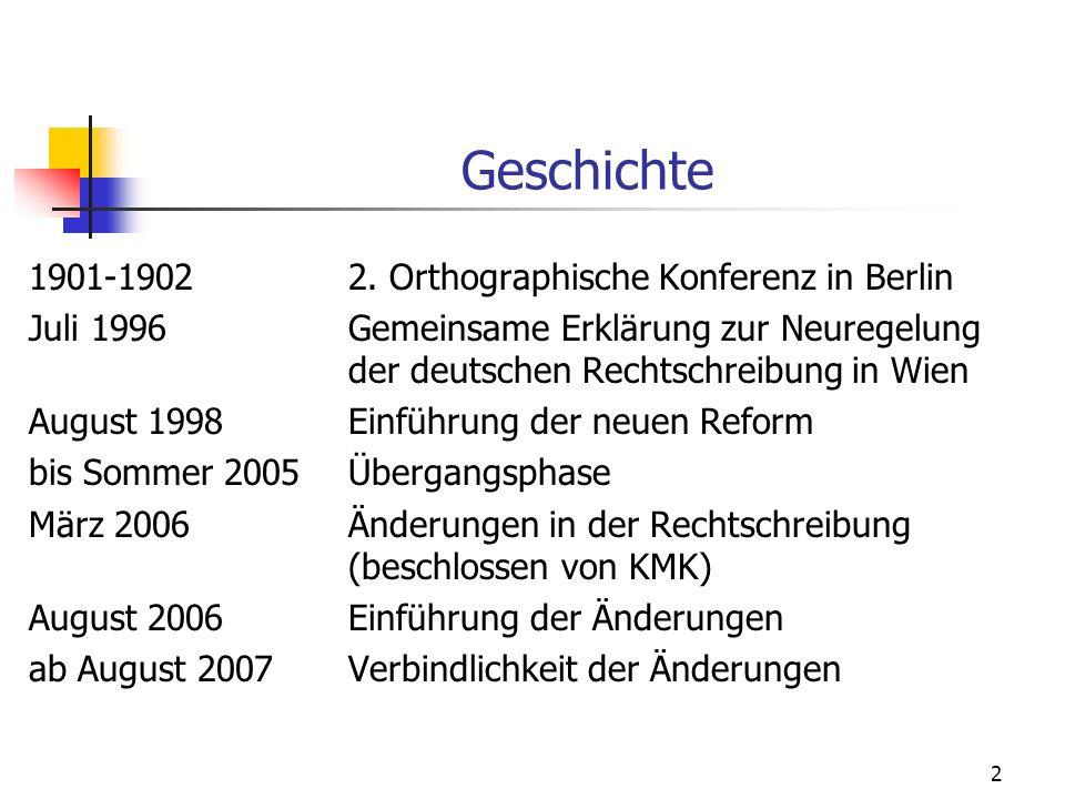 Geschichte 1901-1902 2. Orthographische Konferenz in Berlin
