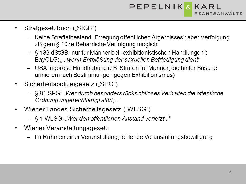 """Strafgesetzbuch (""""StGB )"""