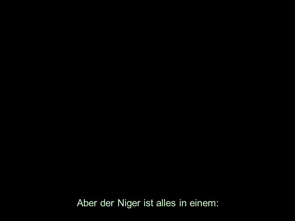 Aber der Niger ist alles in einem: