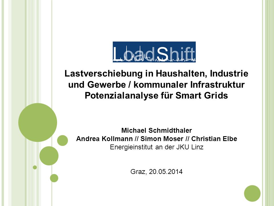 Potenzialanalyse für Smart Grids