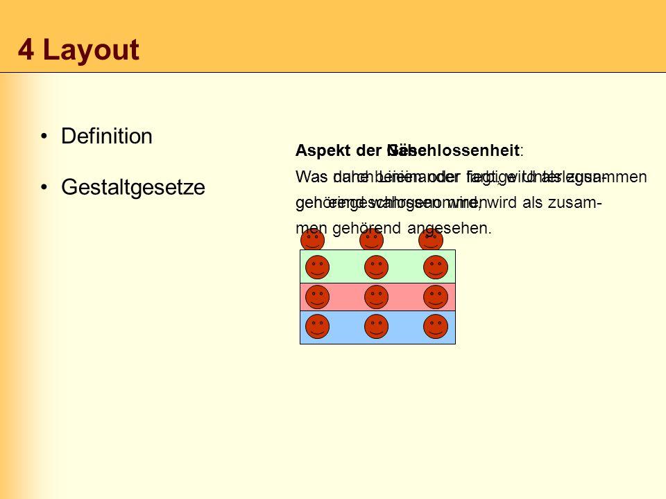 4 Layout Definition Gestaltgesetze