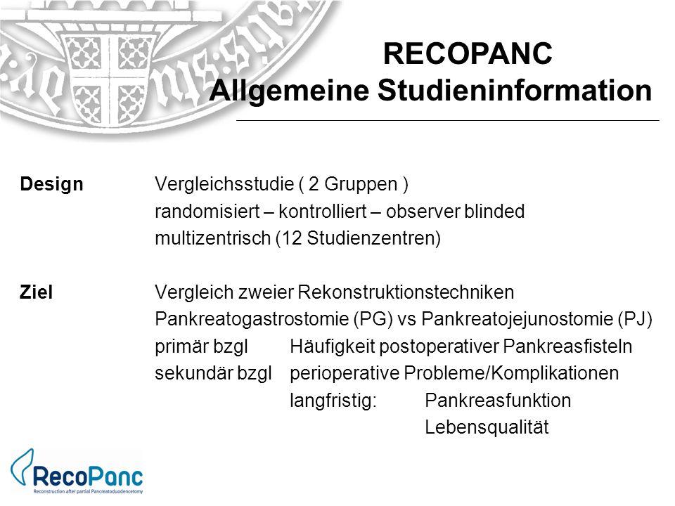 Allgemeine Studieninformation