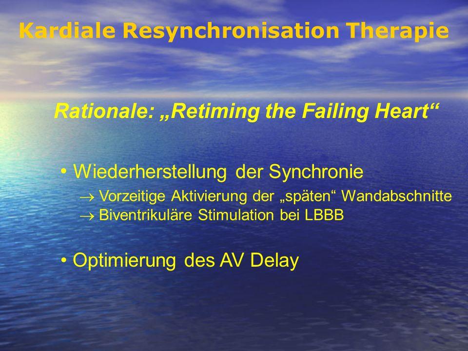Kardiale Resynchronisation Therapie