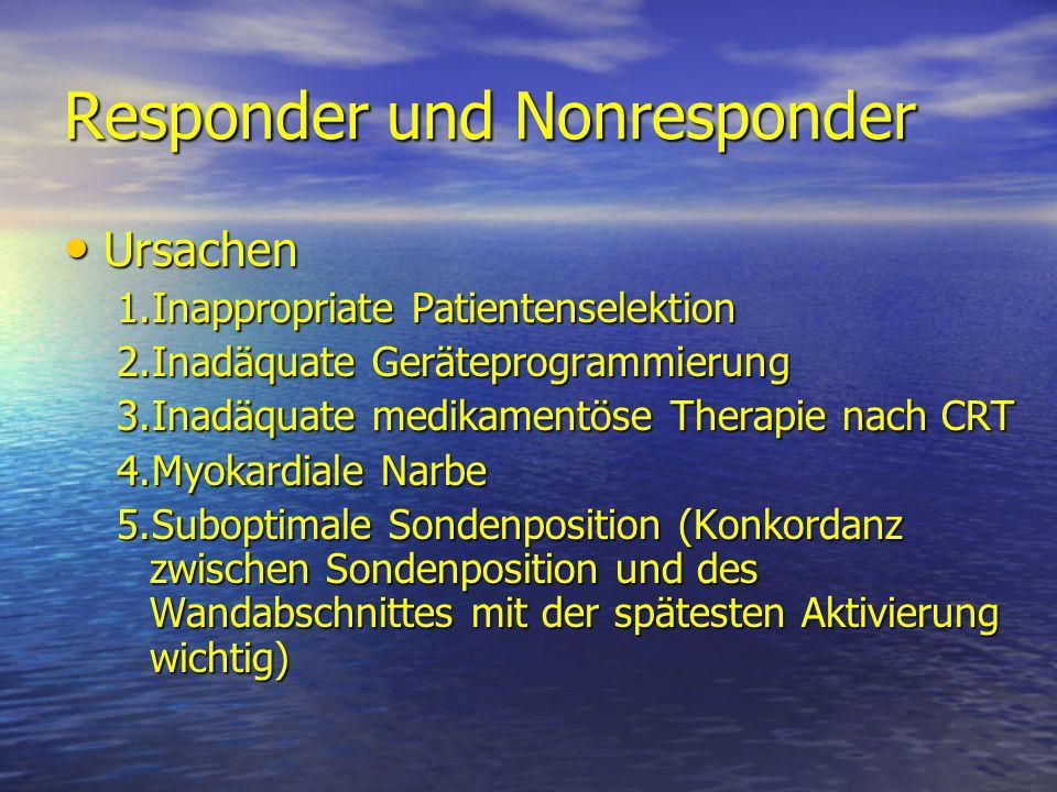 Responder und Nonresponder