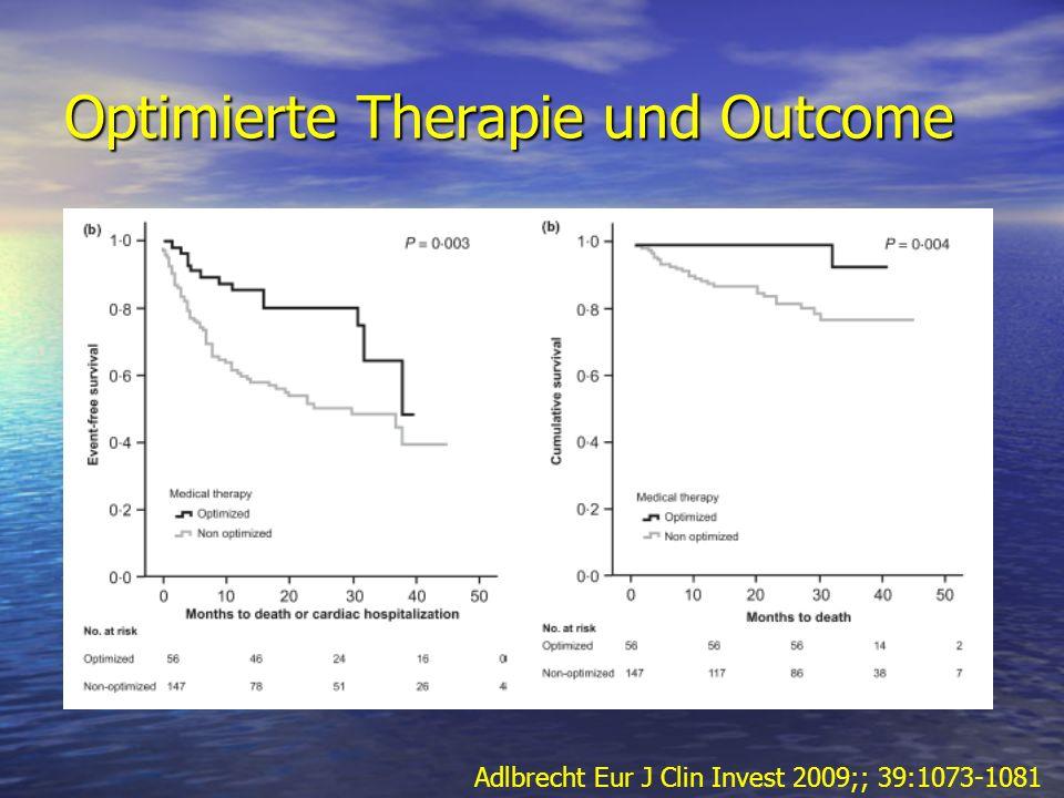Optimierte Therapie und Outcome