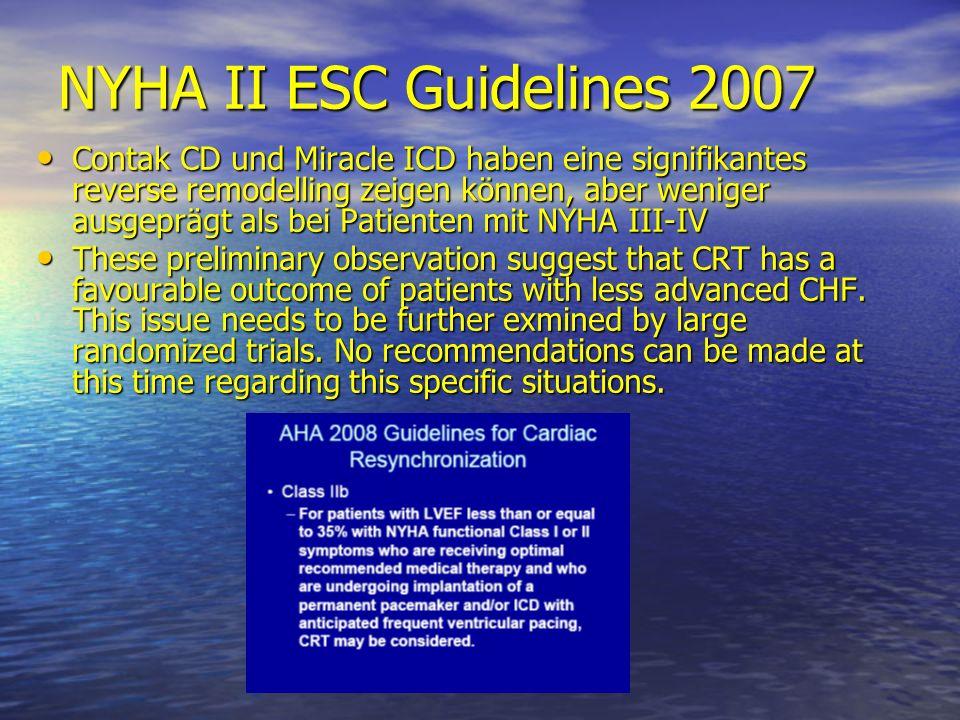 NYHA II ESC Guidelines 2007