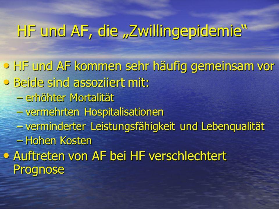 """HF und AF, die """"Zwillingepidemie"""
