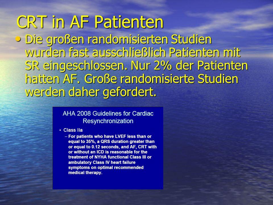 CRT in AF Patienten