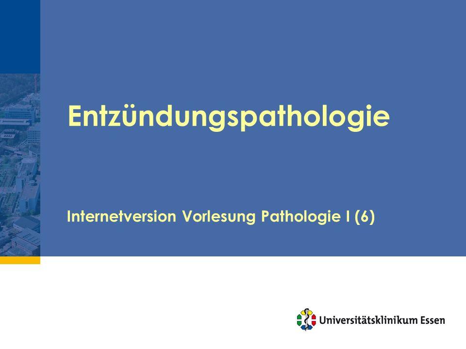 Entzündungspathologie