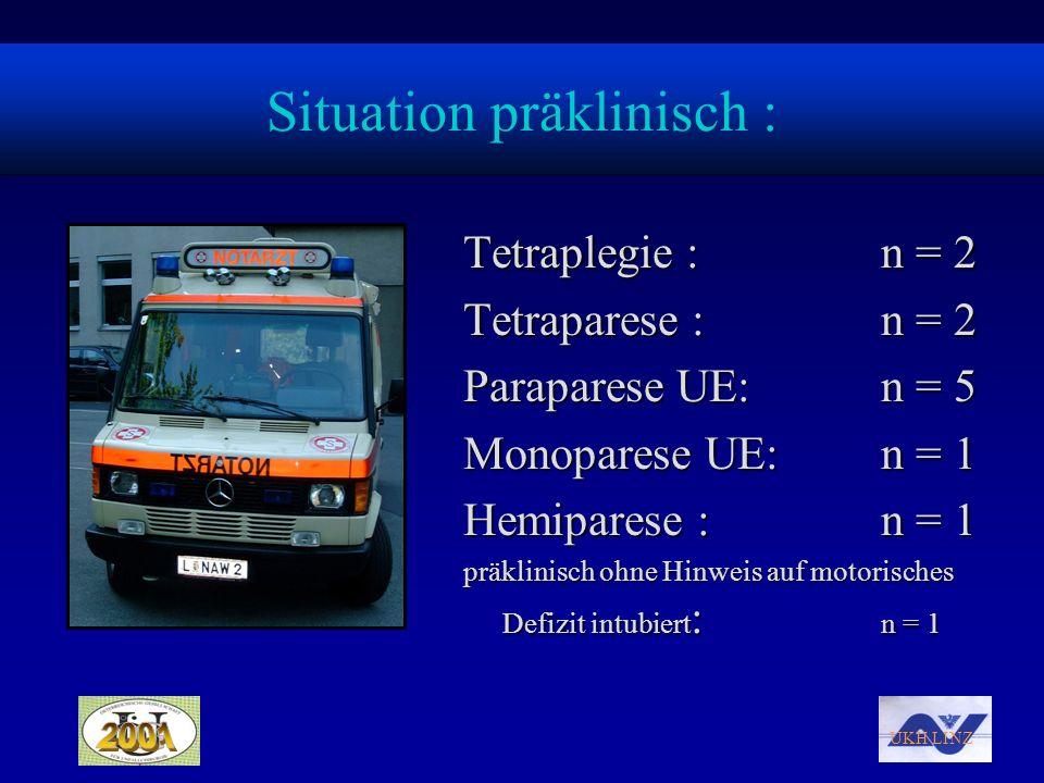 Situation präklinisch :