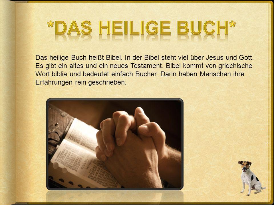 *Das heilige Buch*