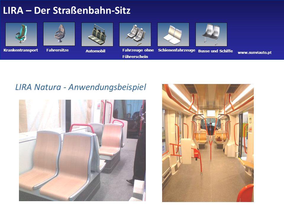 LIRA – Der Straßenbahn-Sitz