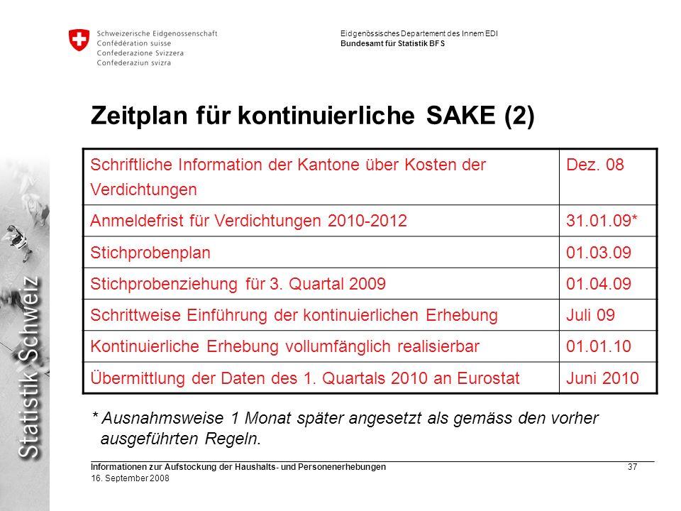 Zeitplan für kontinuierliche SAKE (2)