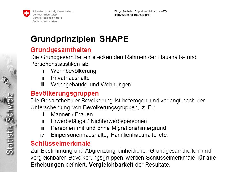 Grundprinzipien SHAPE