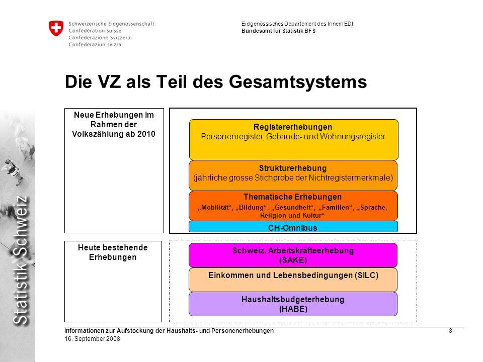 Die VZ als Teil des Gesamtsystems