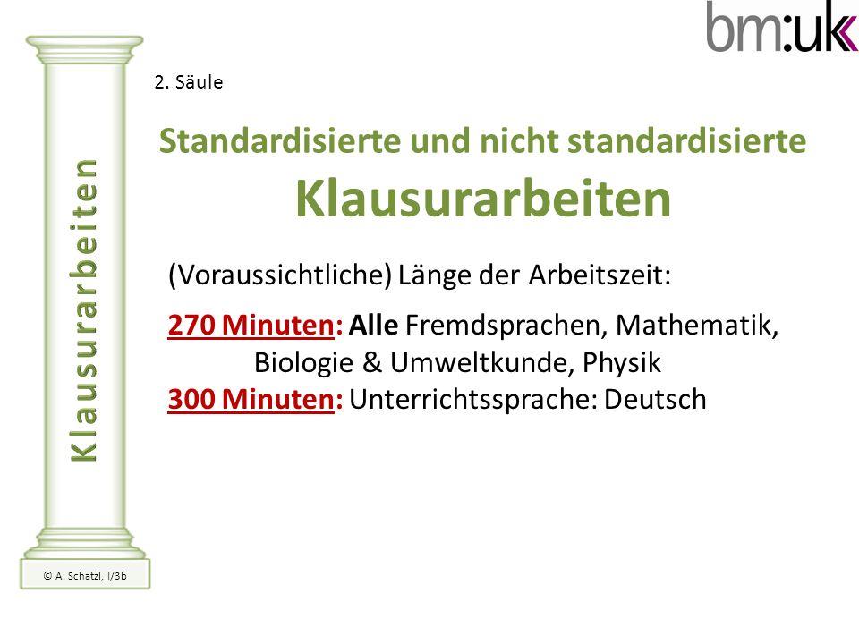 Standardisierte und nicht standardisierte