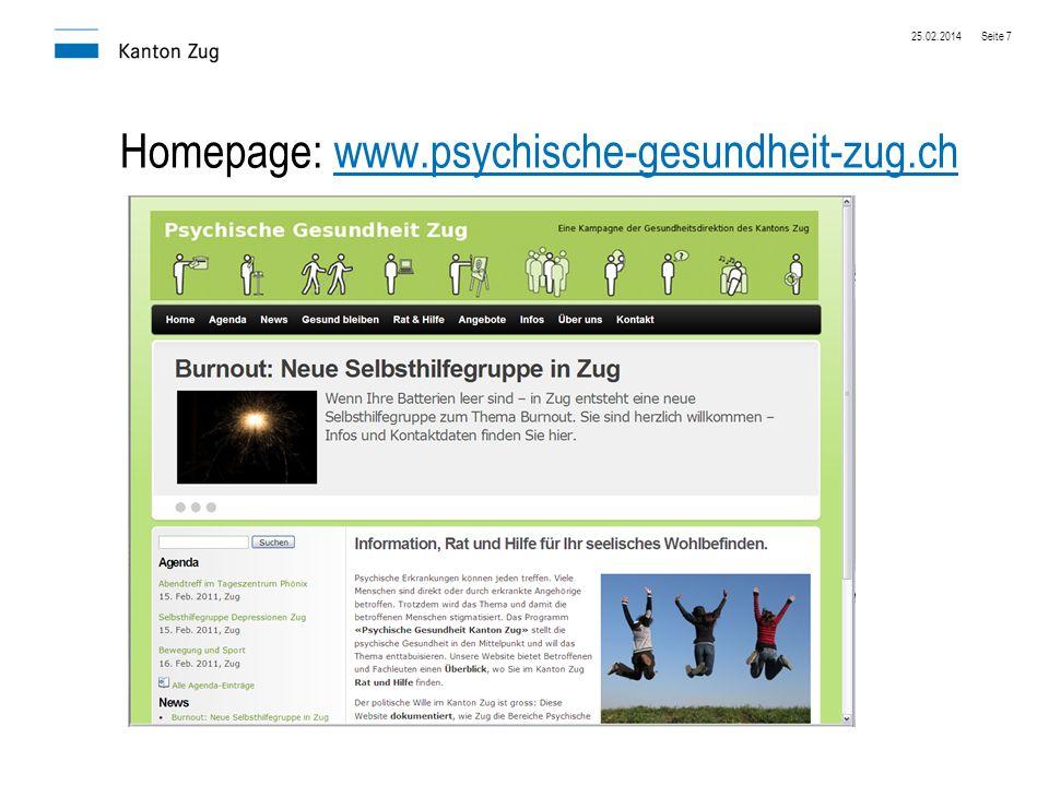 Homepage: www.psychische-gesundheit-zug.ch