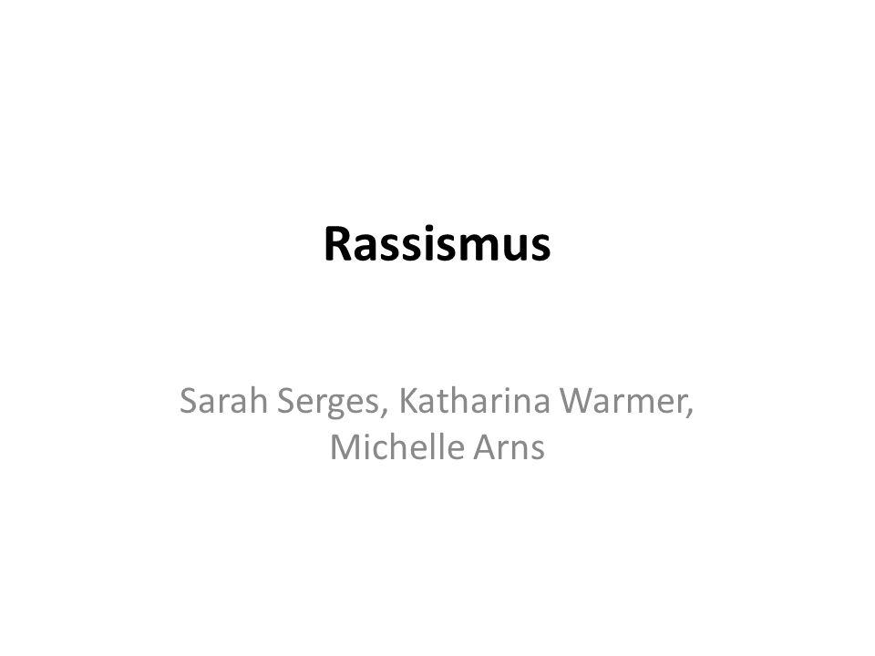 Sarah Serges, Katharina Warmer, Michelle Arns