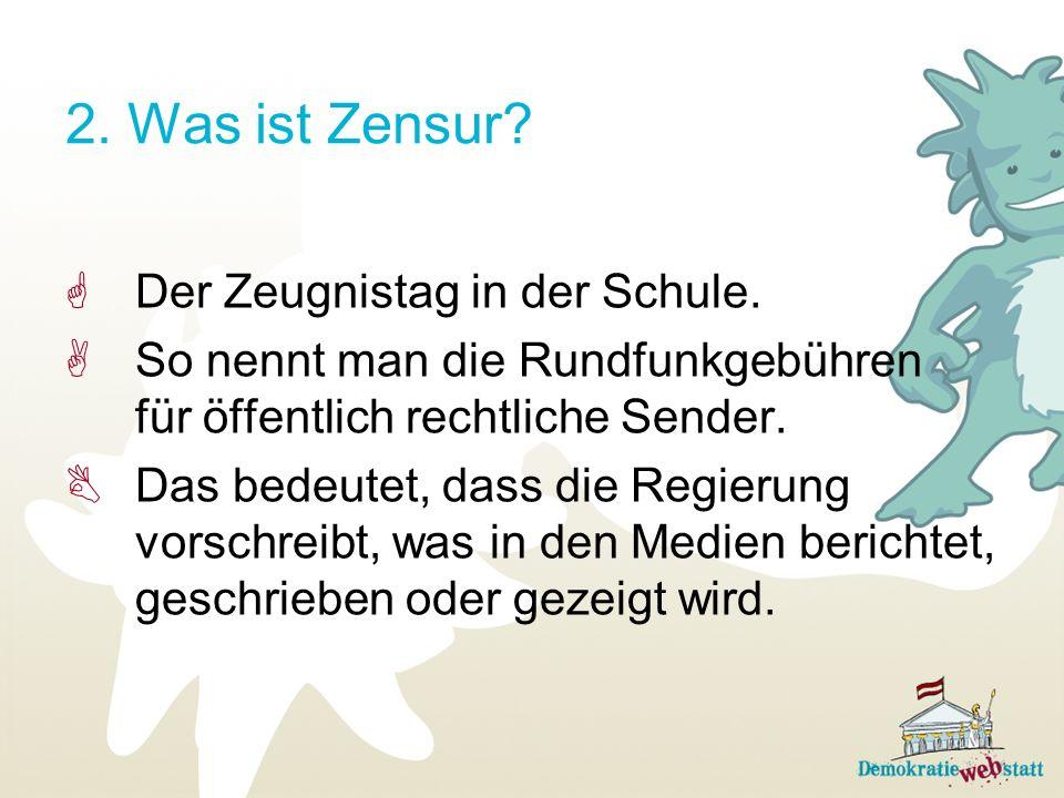 2. Was ist Zensur Der Zeugnistag in der Schule.