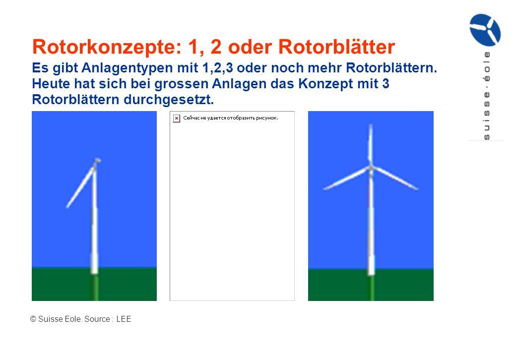 Rotorkonzepte: 1, 2 oder Rotorblätter