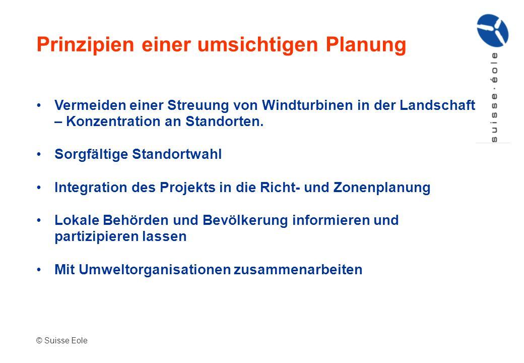 Prinzipien einer umsichtigen Planung
