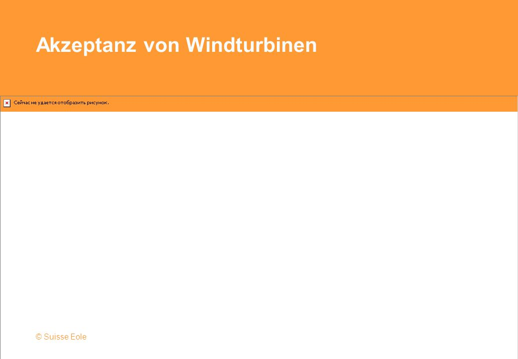 Akzeptanz von Windturbinen