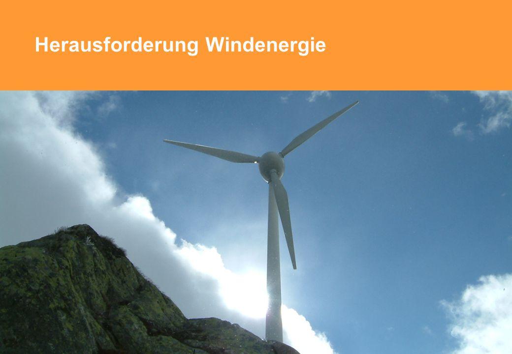 Herausforderung Windenergie