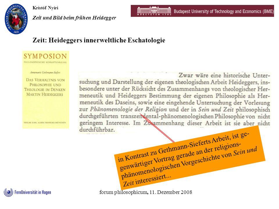 forum philosophicum, 11. Dezember 2008