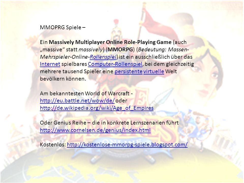 MMOPRG Spiele –