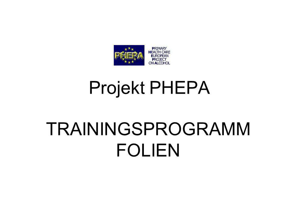 TRAININGSPROGRAMM FOLIEN
