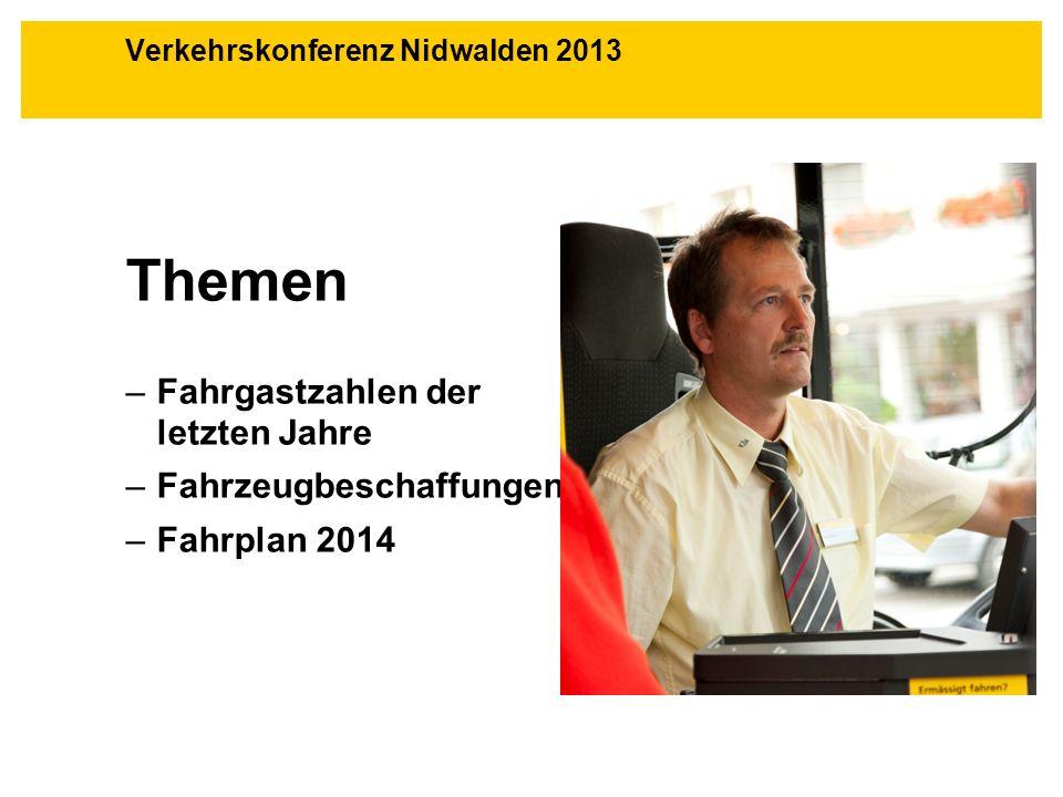 Verkehrskonferenz Nidwalden 2013