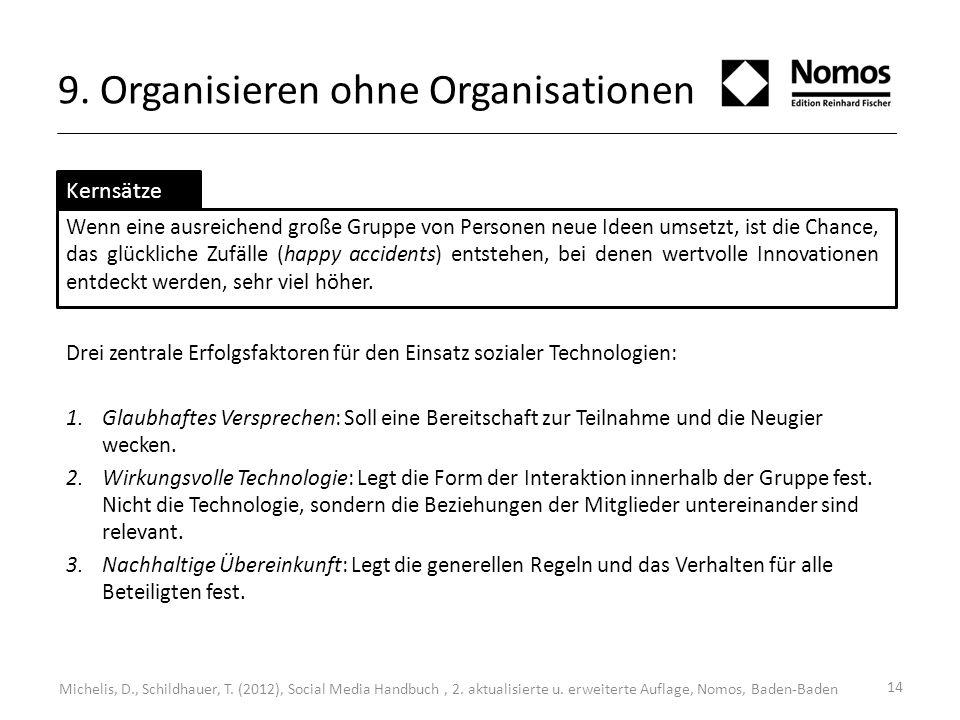 9. Organisieren ohne Organisationen