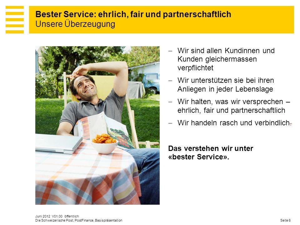 Bester Service: ehrlich, fair und partnerschaftlich Unsere Überzeugung