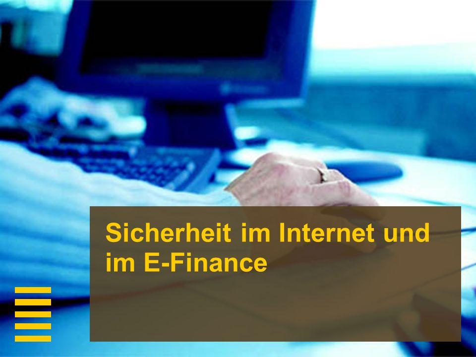 Sicherheit im Internet und im E-Finance