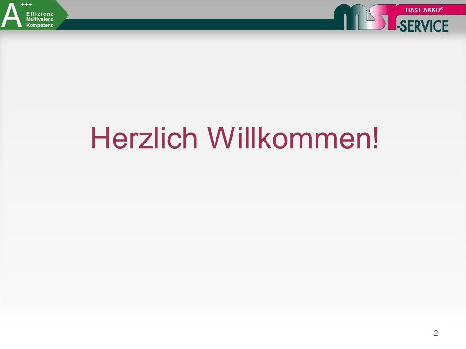 HAST-AKKU® Herzlich Willkommen!