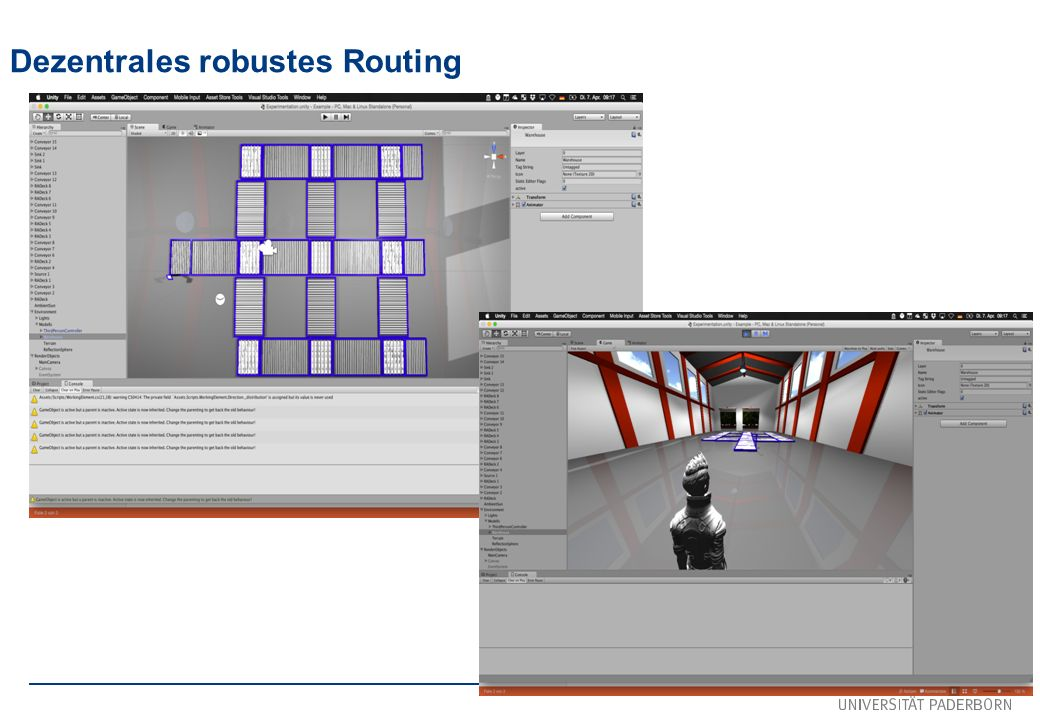 Dezentrales robustes Routing