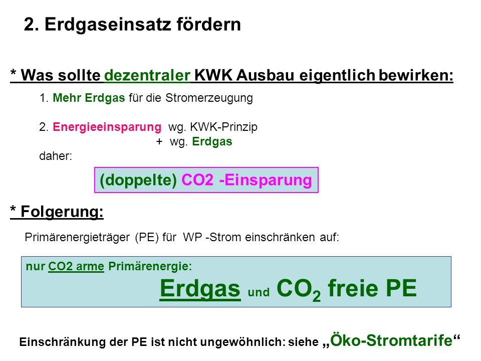 2. Erdgaseinsatz fördern