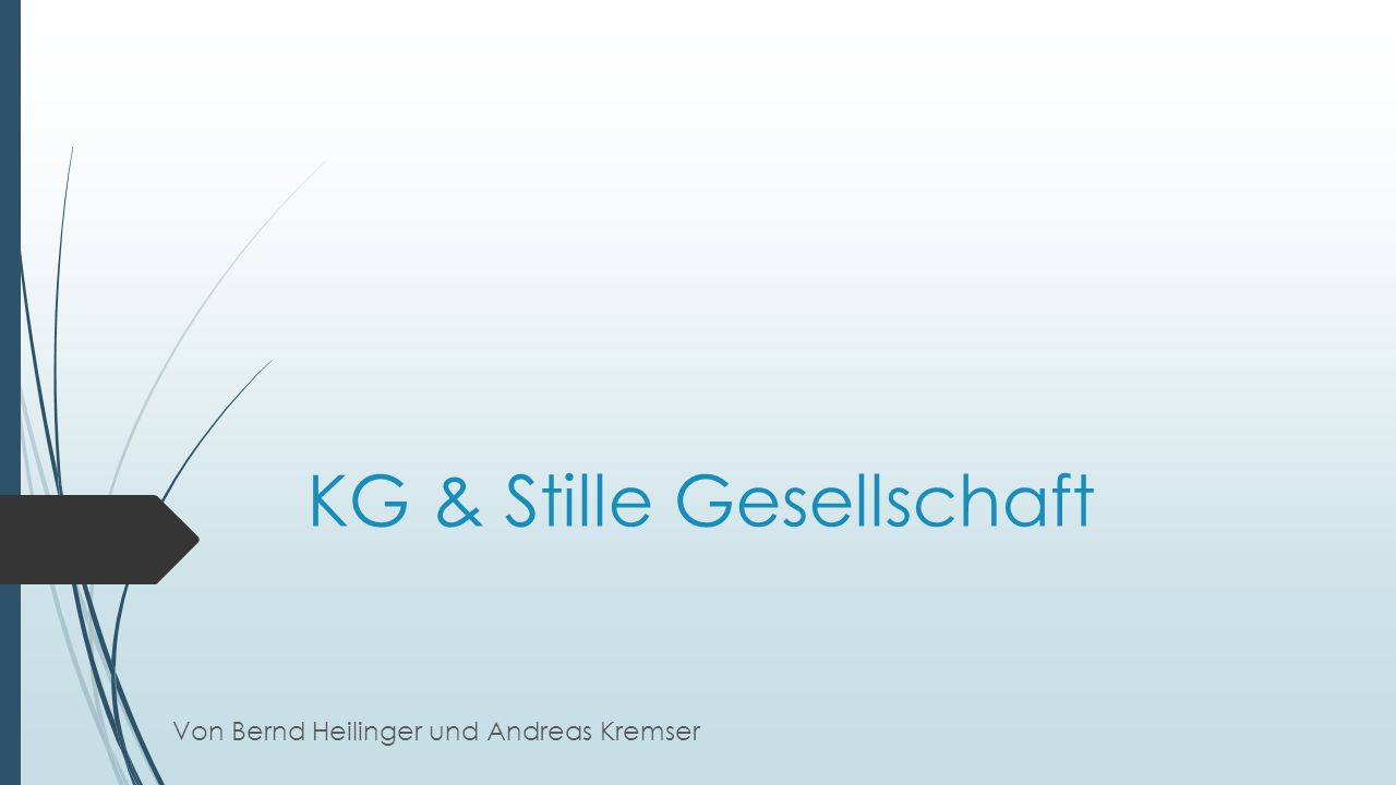 KG & Stille Gesellschaft
