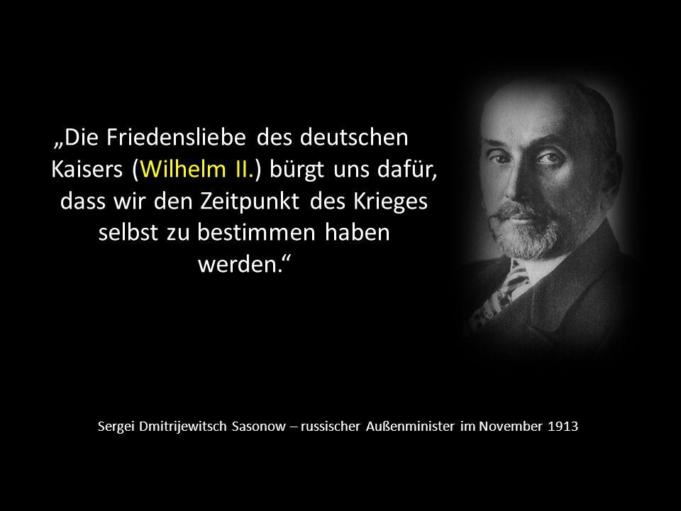 """""""Die Friedensliebe des deutschen Kaisers (Wilhelm II"""