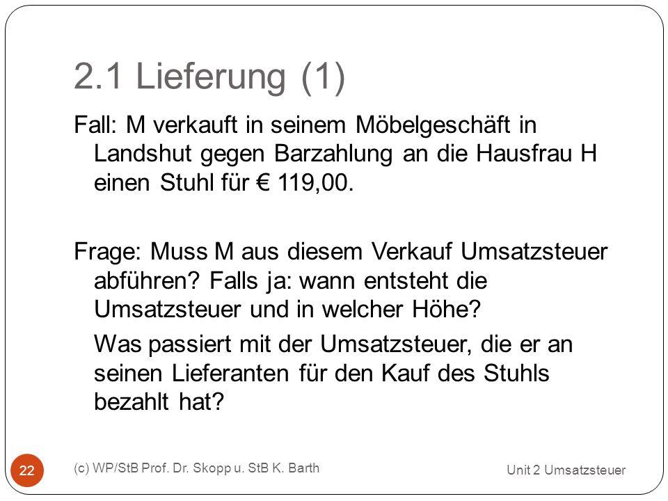2.1 Lieferung (1)