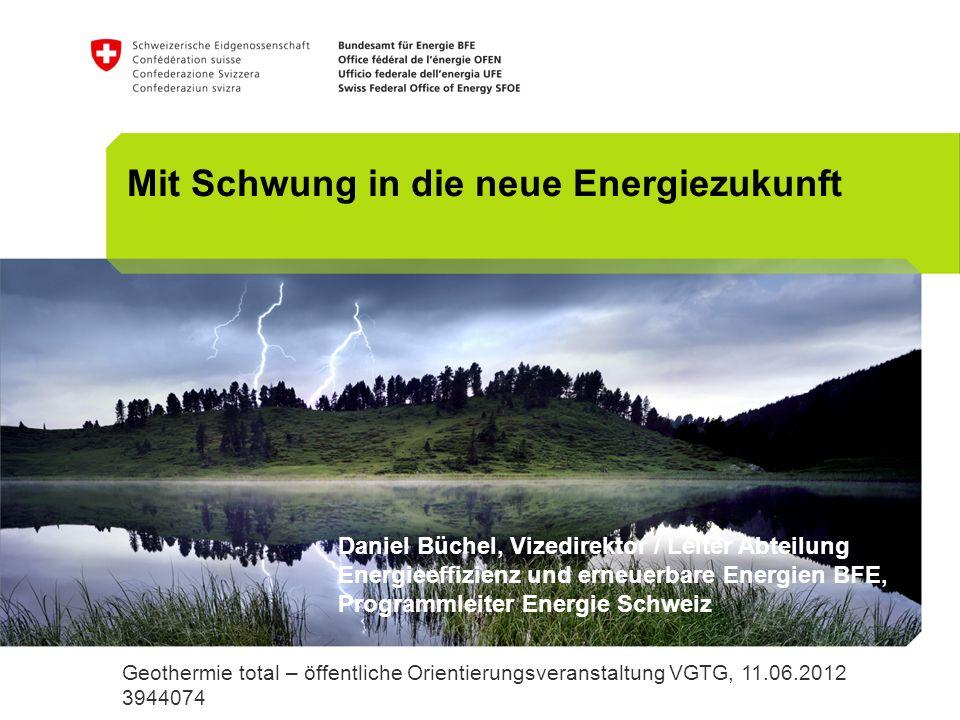 Mit Schwung in die neue Energiezukunft