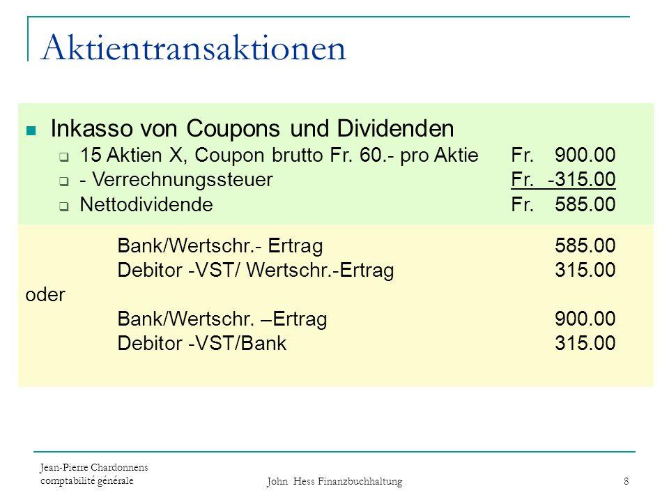 John Hess Finanzbuchhaltung