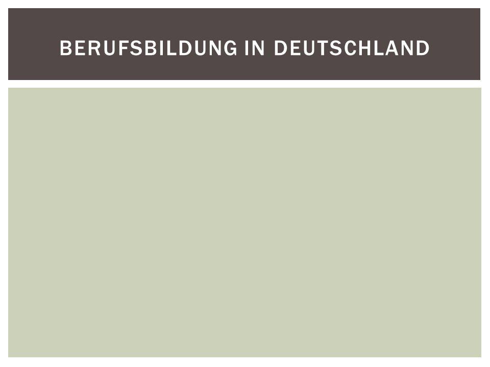 Berufsbildung in Deutschland