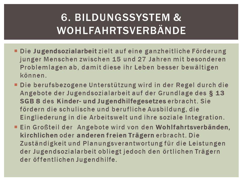 6. Bildungssystem & Wohlfahrtsverbände