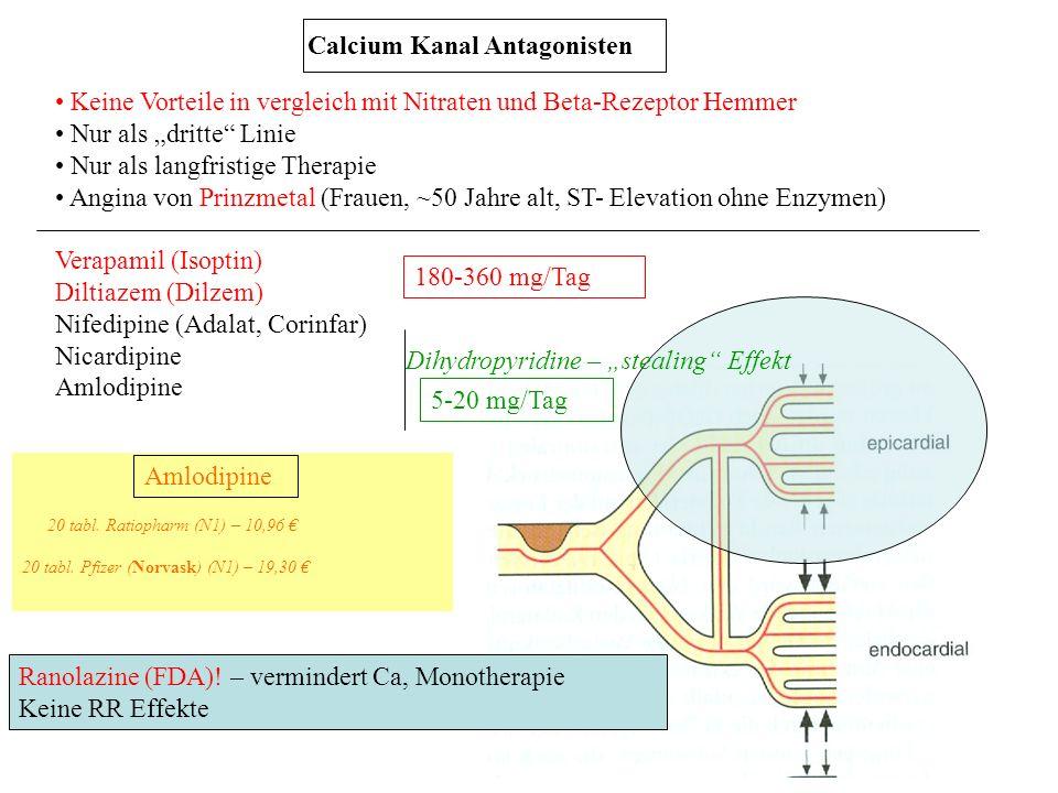 Calcium Kanal Antagonisten