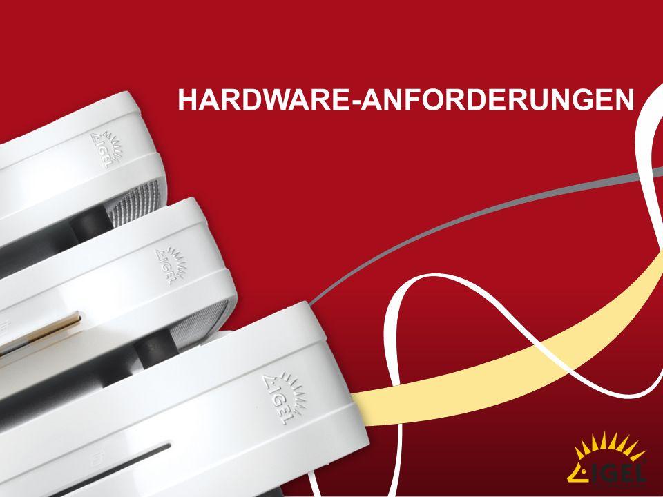 Hardware-anforderungen