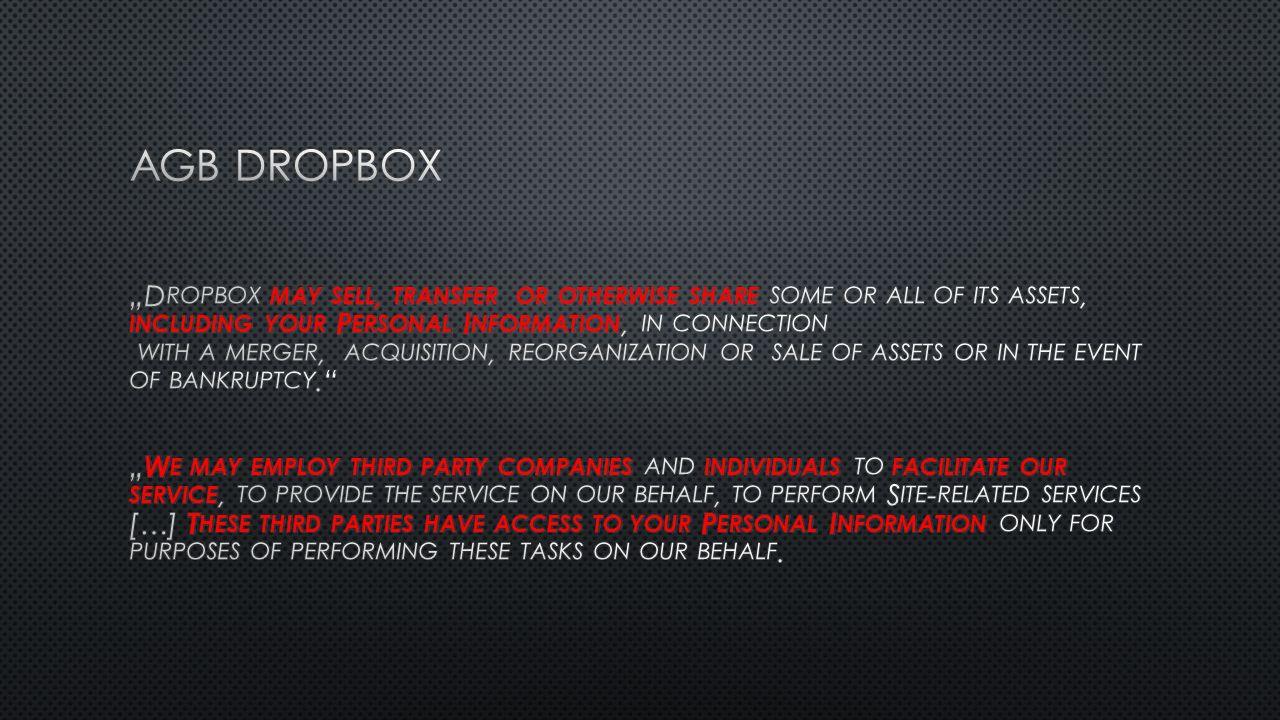AGB Dropbox