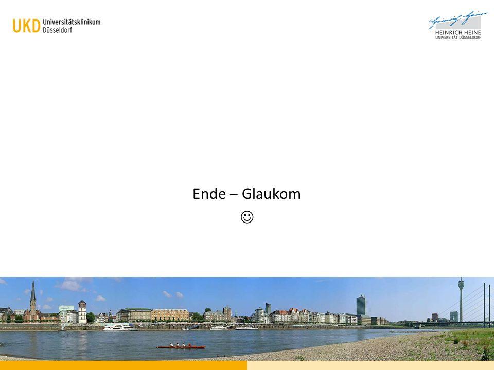 Ende – Glaukom 